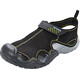 Crocs Swiftwater - Sandales Homme - gris/noir